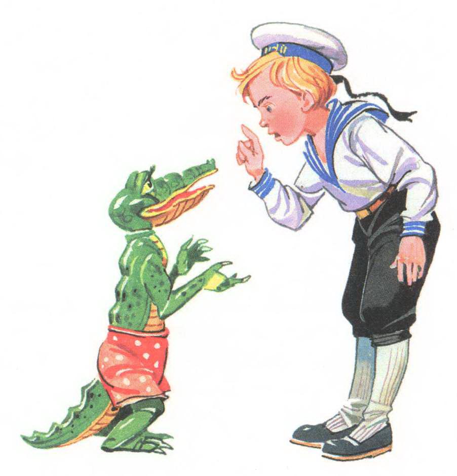 Мальчик Ваня и крокодил