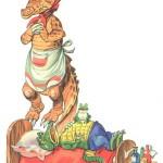 крокодильчик болеет
