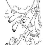 Джуди Хопс (кролик) спасает лиса Ника Уайлда
