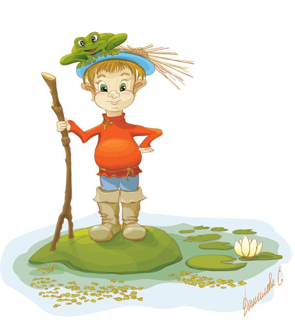 Рисунок болота
