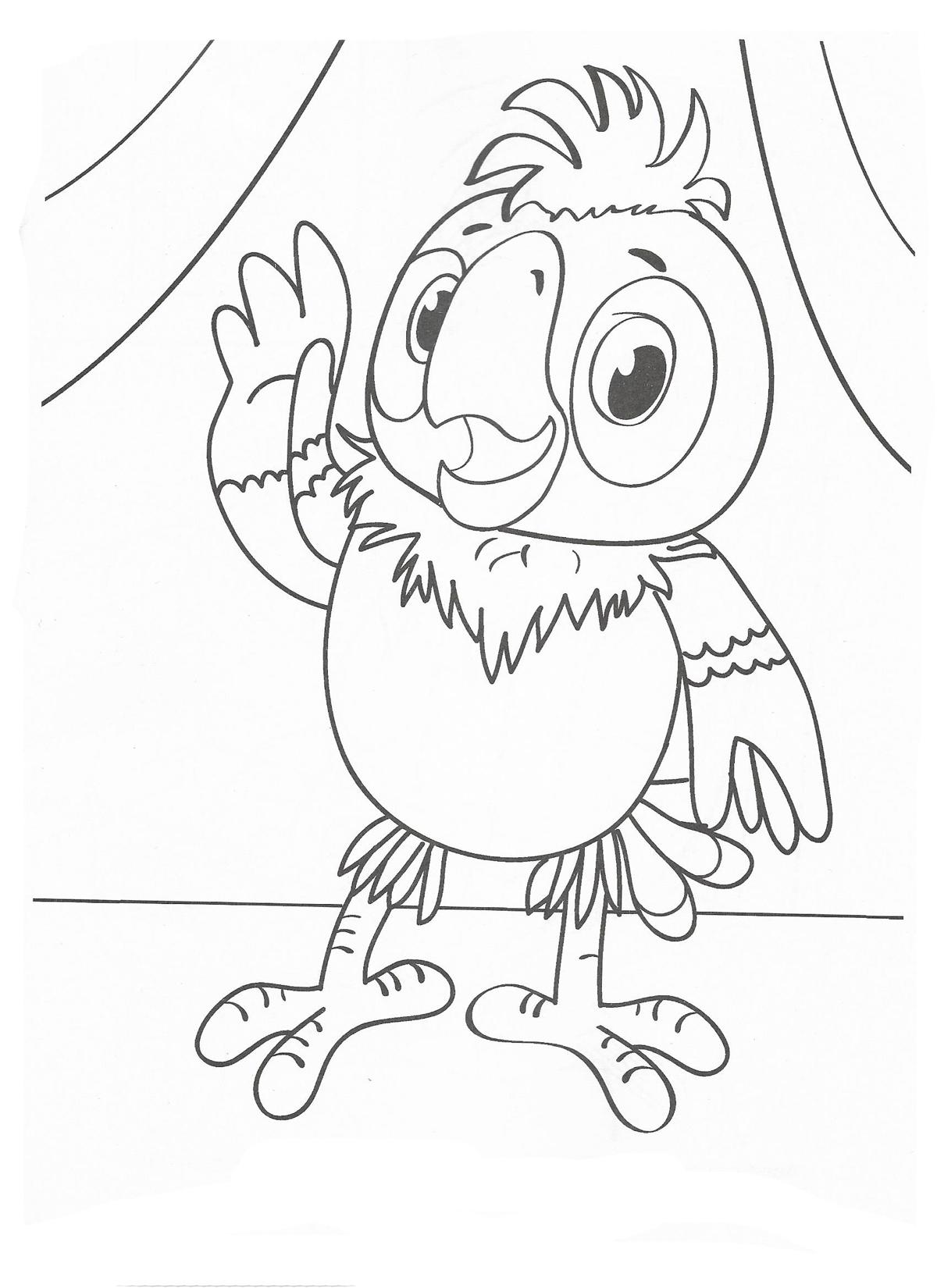 попугай кеша картинка детям основном способствуют закреплению