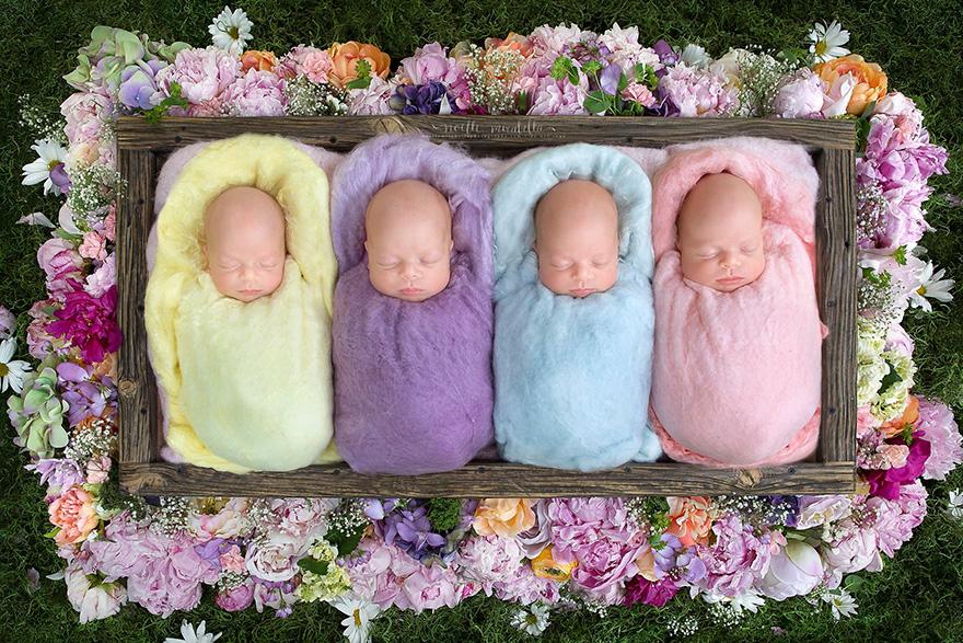 сказочные фотографии новорожденных девочек