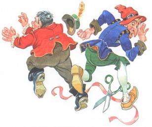 Иллюстрация к стихотворению Храбрецы Чуковские
