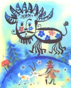 Закаляка Чуковский иллюстрация