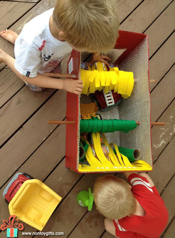 Детские автомойки своими руками