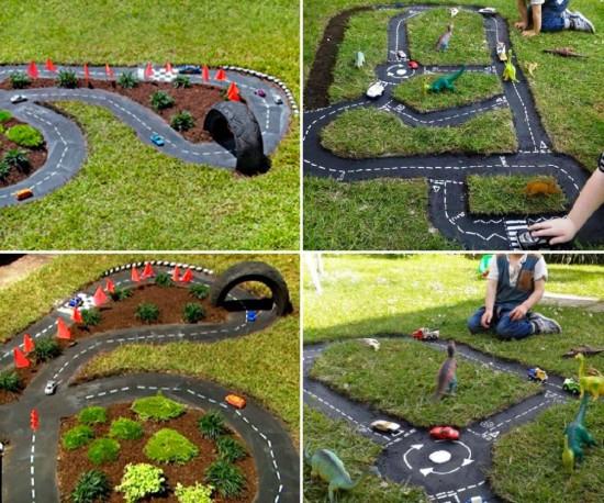 Детские игровые зоны на даче