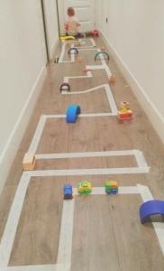 Дорога для детских машинок
