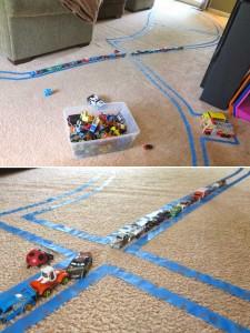 Детская площадка для машинок