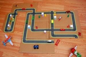 Трасса для детских машинок