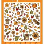 Осенняя игра для детей распечатать