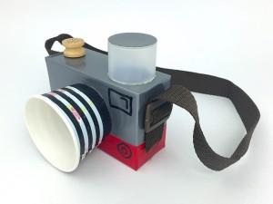 Игрушечный фотоаппарат своими руками