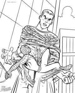 Человек-паук раскраски для мальчиков