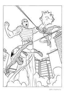 Человек-паук срожается