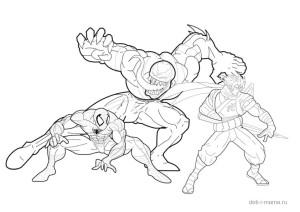 Битва Человека-паука