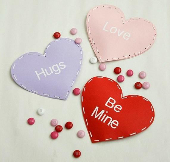 Валентинки для детей и взрослых