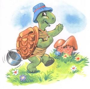 Рисунок черепашки для детей