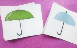 зонтики для звука з